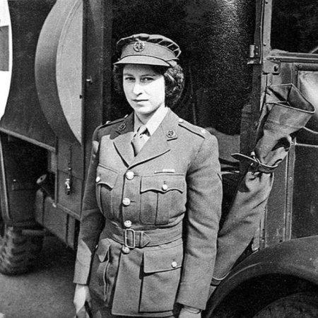 Елизавета II, 1945 год