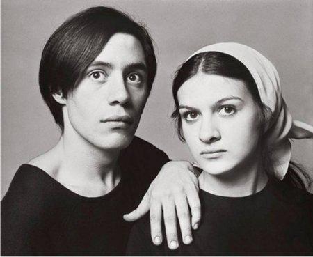 Клод и Палома Пикассо. Дети Пабло Пикассо и Франсуазы Жило, Париж, Франция, 1966 год.