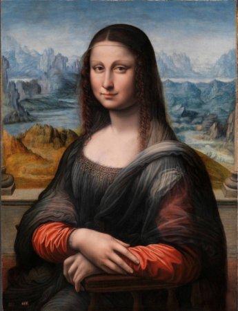 Мона Лиза из музея  Прадо, работа одного из учеников Да Винчи. Краска отлично сохранилась и выглядит так, как оригинальная картина великого мастера должна была выглядеть в 1517 году.