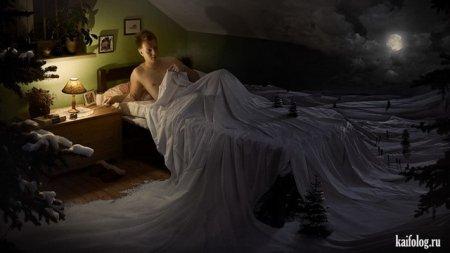 зима в постели