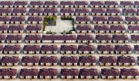 Роскошный поселок в Китае.