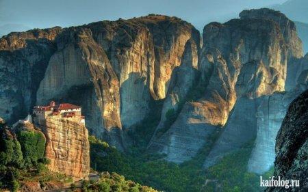 удивительные горы