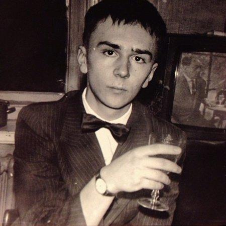 Молодой Сергей Шнуров, 1987 г.