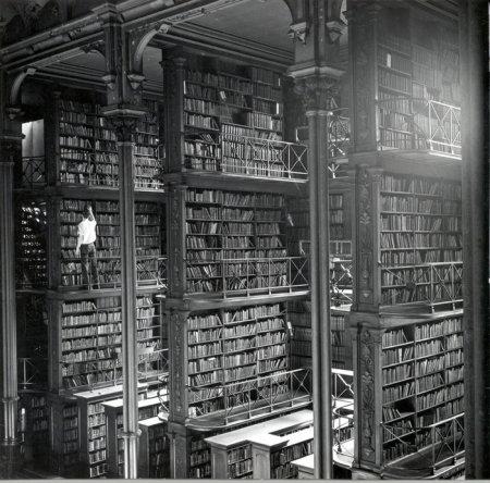 Библиотека в Цинцинати. 1900.