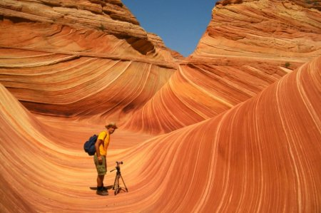 Аризонские волны, США