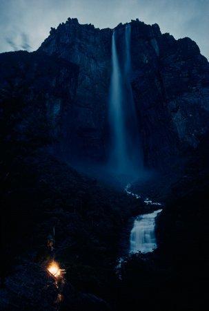 Водопад Анхель, Венесуэла, 1963 год