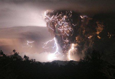 Вулкан Чайтен и его извержение – Чили (май 2008)