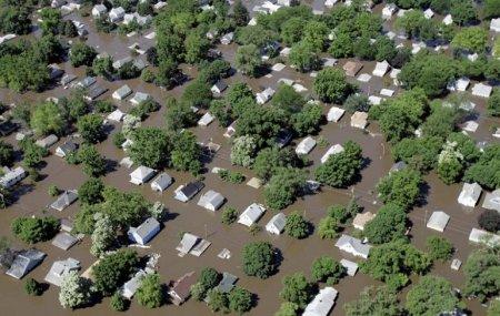 Наводнение – Айова, Соединенные Штаты (июнь 2008)