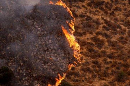 Лесные пожары, Калифорния (сентябрь 2009)