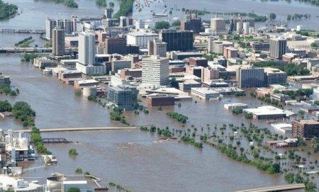 Наводнение,  Айова (июнь 2008)