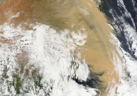 Песчаная буря – Австралия (сентябрь 2009)