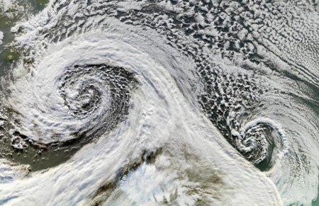 Двойной циклон – Исландия (ноябрь 2006)