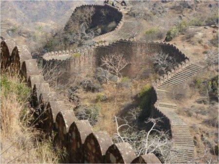 Форт Кумбалгарх, Индия