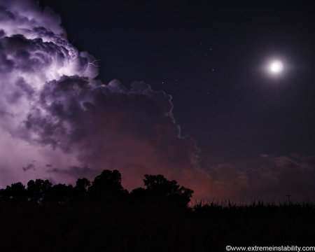 фиолетовое небо