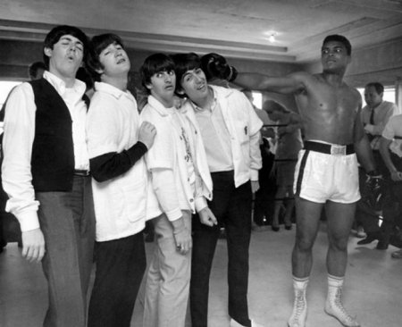 The Beatles и Мохаммед Али, 1964.