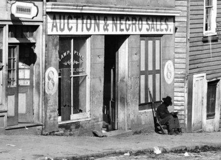 1864 год, незадолго до окончания Гражданской войны в США, аукцион рабов