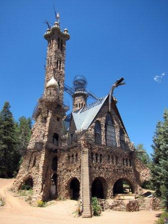 Замок Бишопа, Национальный заповедник Сан-Исабель, Колорадо