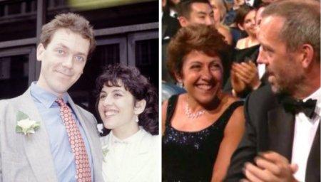 Хью Лори и Джо Грин, 27 лет вместе
