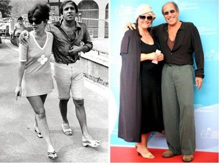 Адриано Челентано и Клаудия Мори, 51 год вместе