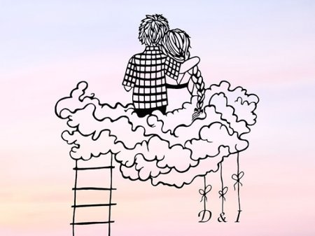 на облаках