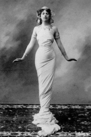 Известная танцовщица и шпионка Мата Хари, 1917 год.