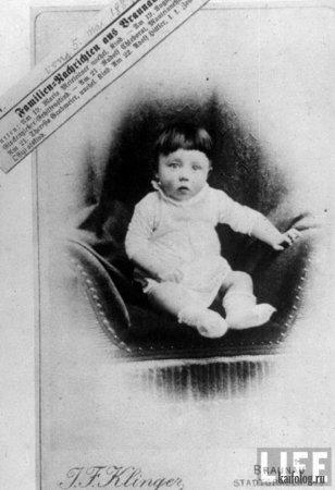 Свидетельство о рождении Гитлера. Австрия, 1889 год.