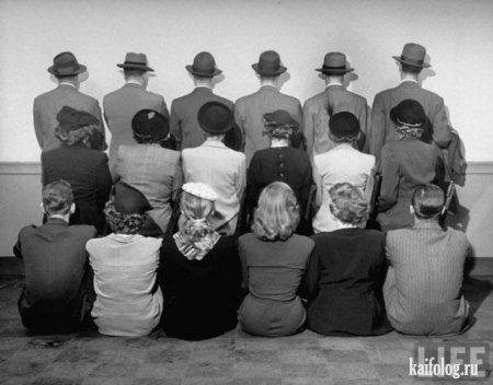 Детективы универмага Macy`s, работающие в гражданской одежде, 1948-ой год.