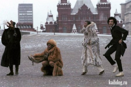 Бони-М на Красной площади, 1978-ой год