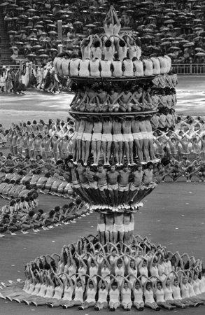 Москва, открытие Олимпиады, 1980