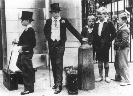 Классовые различия, Великобритания, 1937