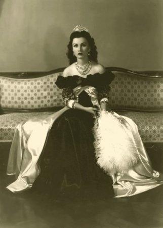 Фавзия Фуад, королева Ирана и Египта, 1939