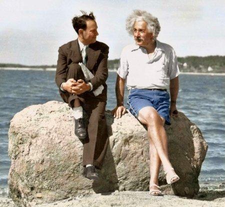 Эйнштейн на пляже, 1939