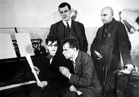Четыре гения: Шостакович, Мейерхольд, Маяковский, Родченко