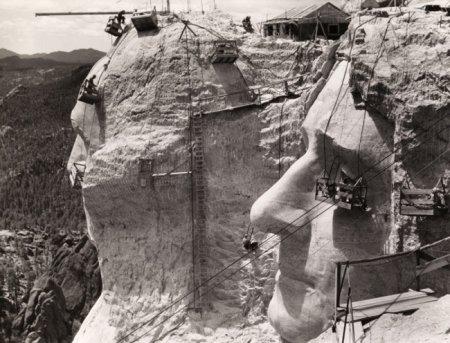 Строительство горы Рашмор, 1939