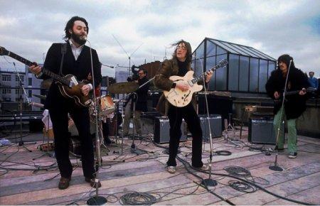 Последний концерт The Beatles на крыше в Лондоне, 1969