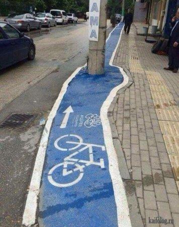 дорожка для велосипедистов