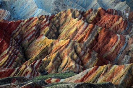 скалы Чжанъе Данься